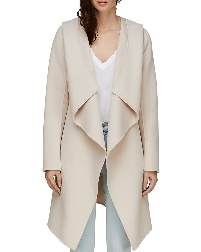 Soia & Kyo - Exaggerated Shawl Collar Coat