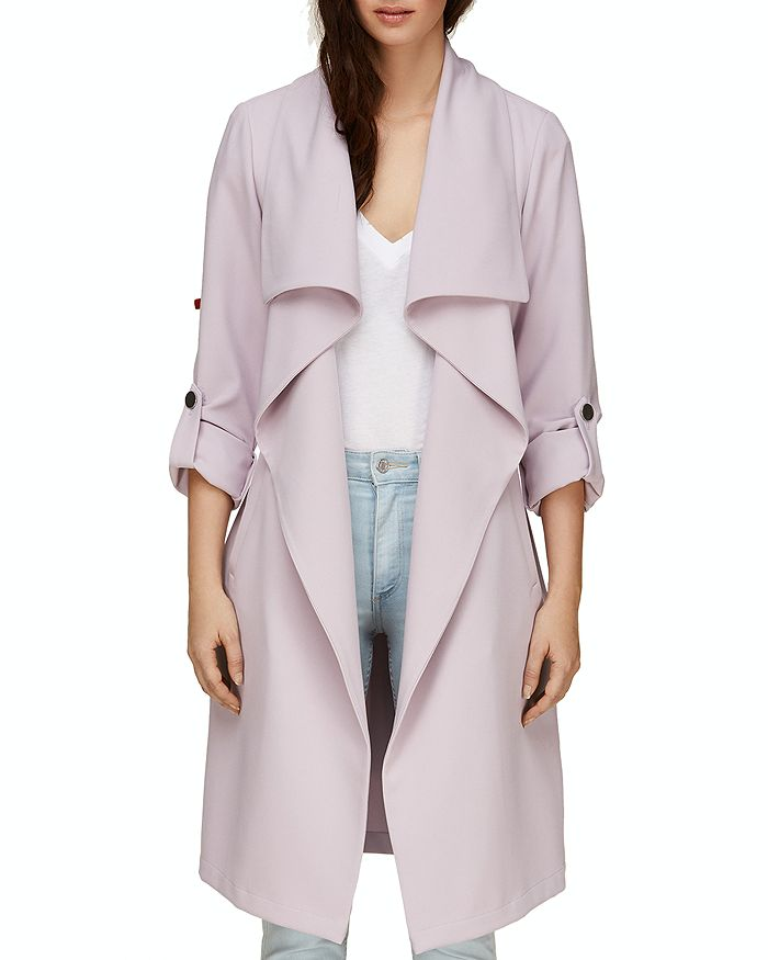 Soia & Kyo - Ornella Draped Trench Coat