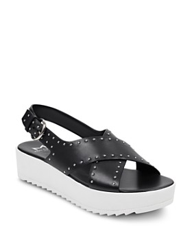 Marc Fisher LTD. - Women's Delilah Studded Suede Platform Sandals