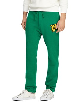 70c836ec3fa6 Polo Ralph Lauren - Yale Patch-Accented Fleece Jogger Pants - 100%  Exclusive ...