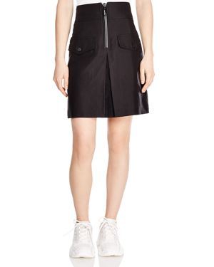 Sandro Aliya Zip-Detail Pocket Skirt