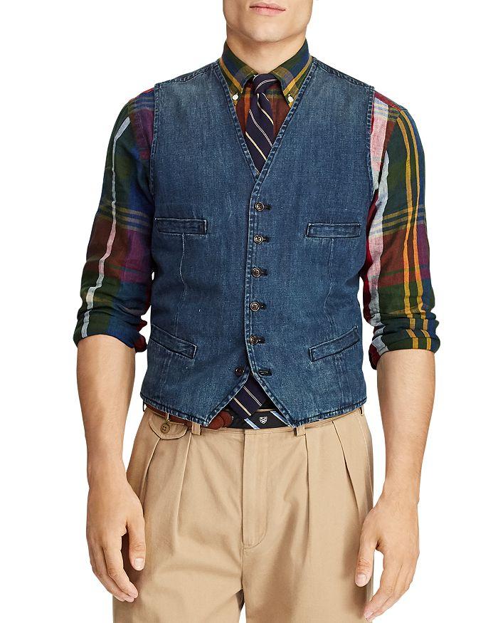 Polo Ralph Lauren - Morgan Denim Vest 3eec30296