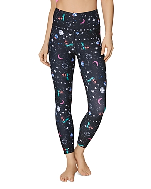 Betsey Johnson Pants CELESTIAL-PRINT LEGGINGS