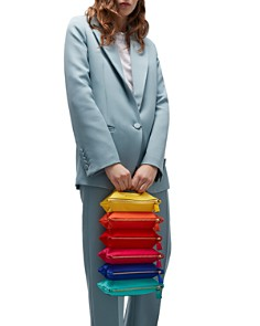 Anya Hindmarch - Filing Cabinet Rainbow Clutch