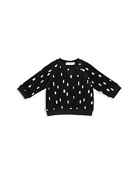Miles Baby - Unisex Confetti Print Raglan Sweatshirt - Baby