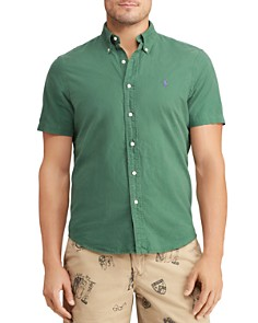 Polo Ralph Lauren - Short-Sleeve Classic Fit Button-Down Oxford Shirt