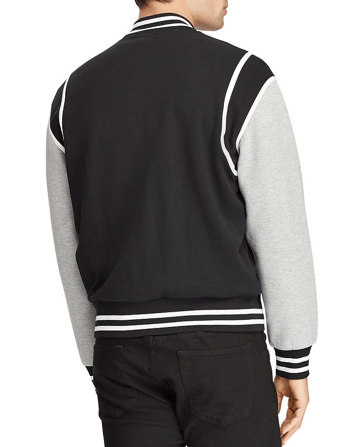 88c86bd9eb10f Polo Ralph Lauren - P-Wing Double-Knit Baseball Jacket