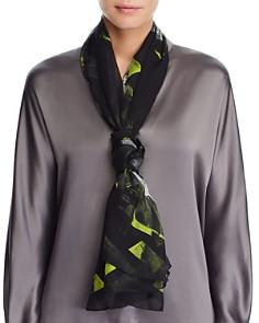 Larioseta - Painterly Floral Silk Scarf