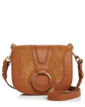 7161baf4e0f3 See by Chloé - Hana Leather   Suede Crossbody ...