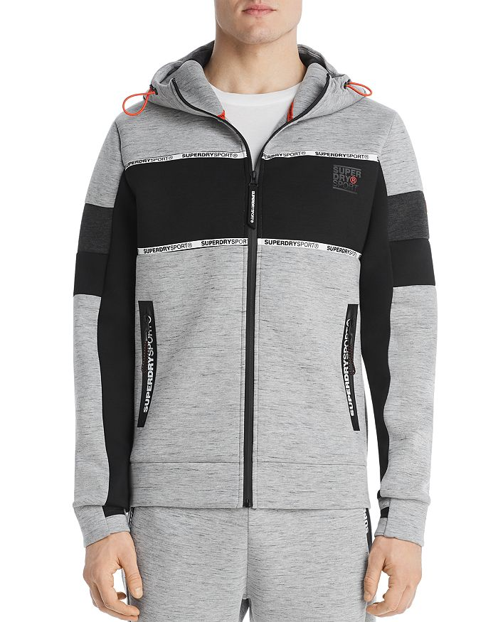 Superdry - Gym Tech Neoprene Color-Block Hoodie