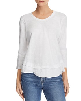 More Shirts Tees T Sleeve Long Women's Bloomingdale's amp; xPfS8qxwY