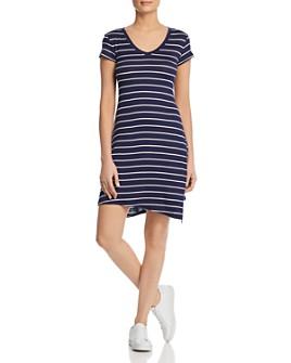 Marc New York - Striped Tee Dress
