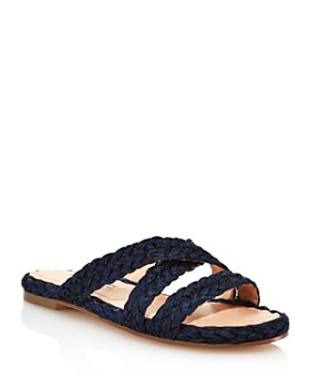 Charles David - Women's Sands Raffia Slide Sandals
