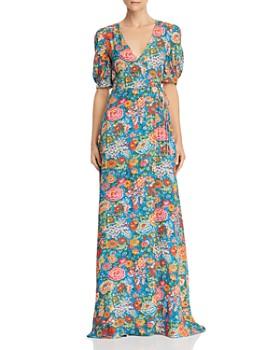 Perseverance London - Elysian Day Liberty Print Maxi Dress
