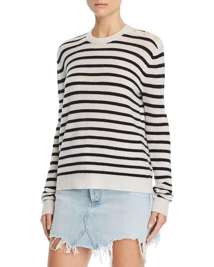 ATM Anthony Thomas Melillo - Striped Cashmere Sweater