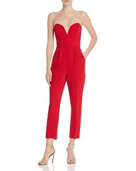 4bb1564b155 Amanda Uprichard - Cherri Strapless Jumpsuit ...