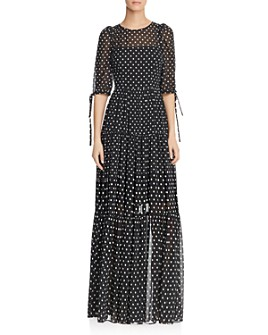 Betsey Johnson - Polka-Dot Maxi Dress