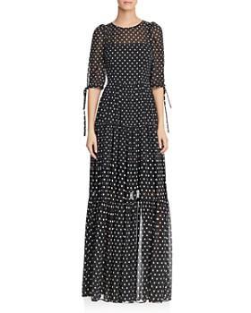 7a52ec37e4 Betsey Johnson - Polka-Dot Maxi Dress ...