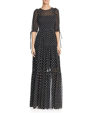 Betsey Johnson - Polka-Dot Maxi Dress