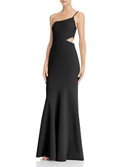LIKELY - Fina One-Shoulder Gown