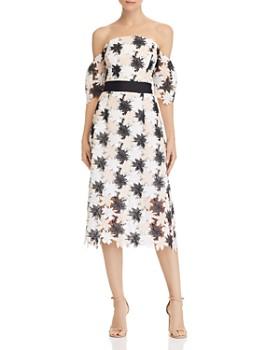 b5d880839 Sam Edelman - Off-the-Shoulder Lace Dress ...