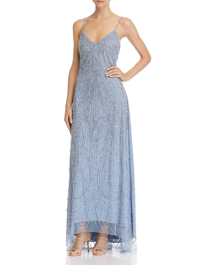 Avery G - Embellished High/Low Gown
