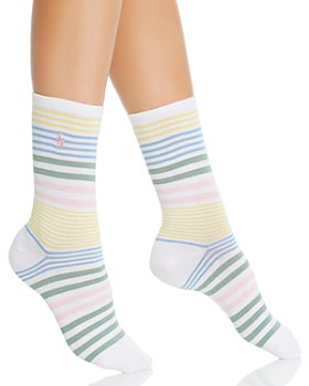 Ralph Lauren - Run on Stripes Socks