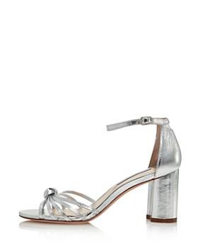 95c9c0b5aee ... Stuart Weitzman - Women s Sutton Metallic Block Heel Sandals