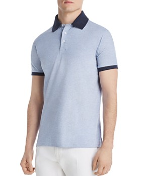 6a76cd52 Dylan Gray - Contrast-Trimmed Piqué Classic Fit Polo Shirt Dylan ...