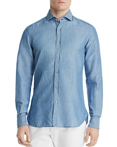 Dylan Gray - Classic Fit Chambray Shirt