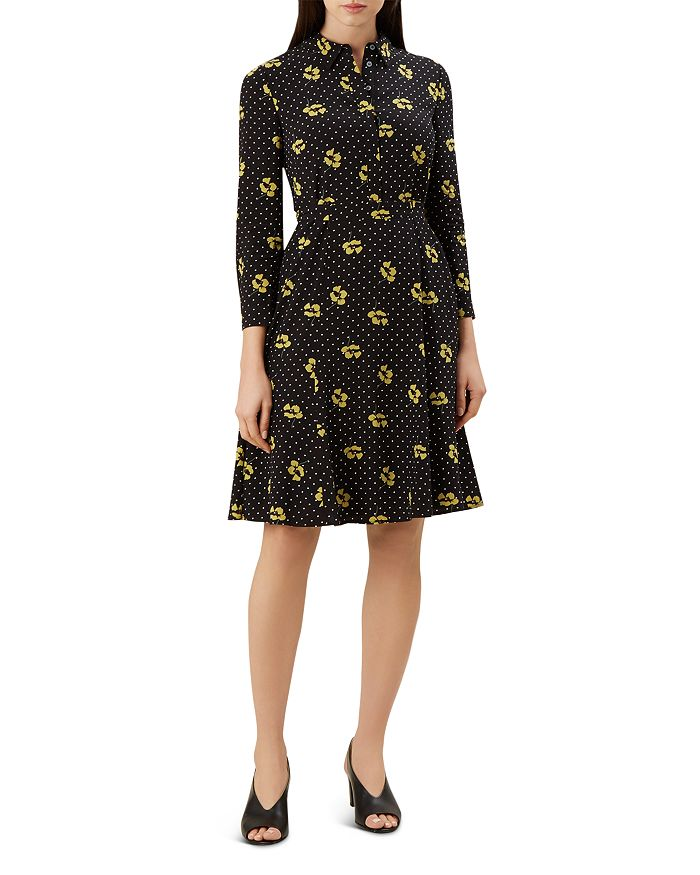 HOBBS LONDON - Emberly Dotted Floral Dress