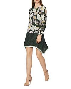 REISS - Floran Floral-Print Dress