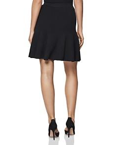 REISS - Hannah Flounced Knit Skirt