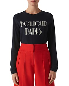 Whistles - Bonjour Paris Sweater