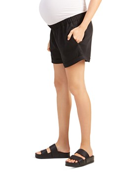 ea24377563206 Ingrid & Isabel - Maternity Easy Cuffed Shorts ...