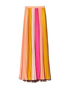 Amur - Abby Color-Block Maxi Skirt