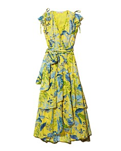 Banjanan - Lisbon Floral-Silk Dress