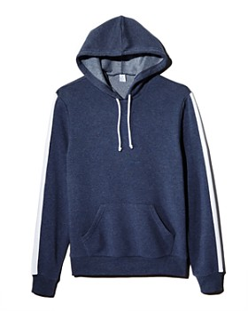 f570f1b7 ALTERNATIVE - Stripe-Trimmed Hooded Sweatshirt - 100% Exclusive ...