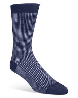Cole Haan - Micro-Patterned Socks