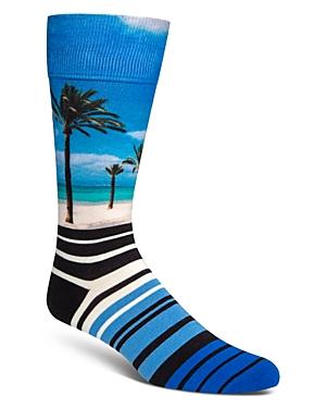 Cole Haan Socks BEACH & STRIPES SOCKS