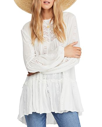 427f355f71c1 Free People Kiss Kiss Lace Inset Tunic | Bloomingdale's
