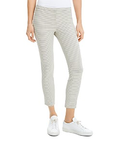 Theory - Classic Plaid Skinny Pants