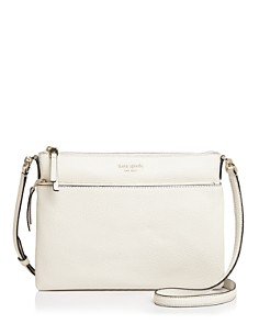 kate spade new york - Medium Pebbled Leather Crossbody