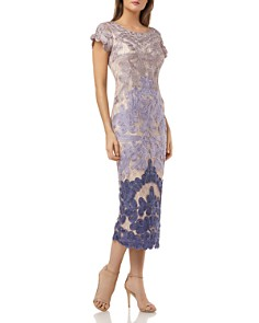 JS Collections - Embroidered Ribbon Dress