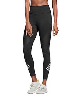 Adidas - Mesh-Inset Triple Stripe Leggings