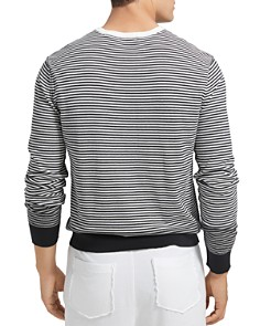 ATM Anthony Thomas Melillo - Ombré Striped Sweater