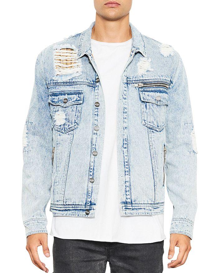 nANA jUDY - Distressed Denim Jacket