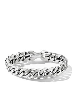 David Yurman - Sterling Silver Curb Chain Bracelet
