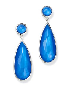 IPPOLITA - Sterling Silver Wonderland Mother-of-Pearl Doublet Elongated Drop Earrings