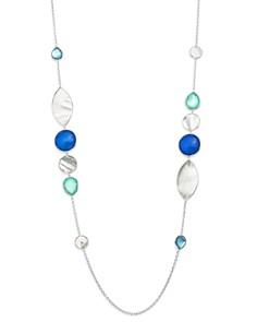 "IPPOLITA - Sterling Silver Wonderland Mother-of-Pearl Doublet Necklace, 38"""